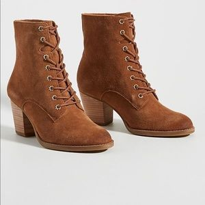 Frye & Co Allister Suede Lace-Up Bootie NWB